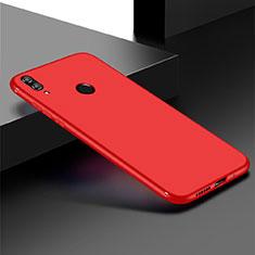 Funda Silicona Ultrafina Goma Carcasa S01 para Huawei Honor Play 8C Rojo