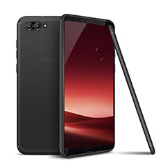 Funda Silicona Ultrafina Goma Carcasa S01 para Huawei Honor View 10 Gris