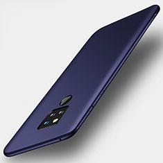 Funda Silicona Ultrafina Goma Carcasa S01 para Huawei Mate 20 X Azul