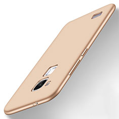 Funda Silicona Ultrafina Goma Carcasa S01 para Huawei Mate 7 Oro