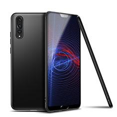 Funda Silicona Ultrafina Goma Carcasa S01 para Huawei P20 Pro Negro