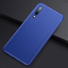 Funda Silicona Ultrafina Goma Carcasa S01 para Huawei P30 Azul