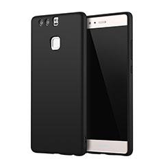 Funda Silicona Ultrafina Goma Carcasa S01 para Huawei P9 Plus Negro