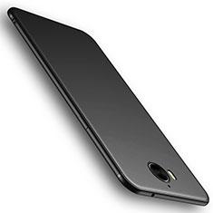 Funda Silicona Ultrafina Goma Carcasa S01 para Huawei Y6 (2017) Negro