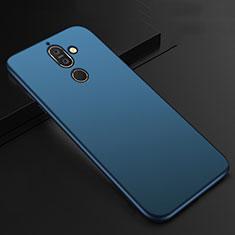 Funda Silicona Ultrafina Goma Carcasa S01 para Nokia 7 Plus Azul