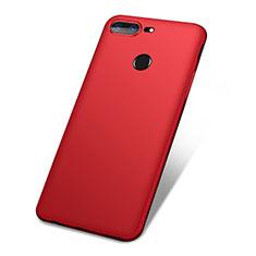 Funda Silicona Ultrafina Goma Carcasa S01 para OnePlus 5T A5010 Rojo