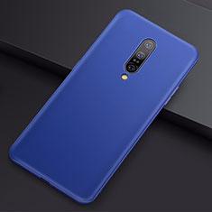 Funda Silicona Ultrafina Goma Carcasa S01 para OnePlus 7 Pro Azul