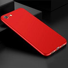 Funda Silicona Ultrafina Goma Carcasa S01 para Oppo A71 Rojo