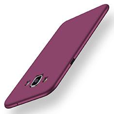 Funda Silicona Ultrafina Goma Carcasa S01 para Samsung Galaxy A5 Duos SM-500F Morado