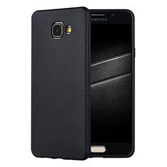 Funda Silicona Ultrafina Goma Carcasa S01 para Samsung Galaxy A7 (2016) A7100 Negro