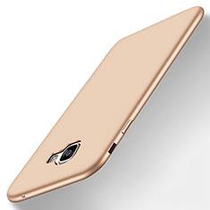 Funda Silicona Ultrafina Goma Carcasa S01 para Samsung Galaxy A8 (2016) A8100 A810F Oro