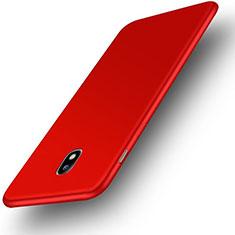 Funda Silicona Ultrafina Goma Carcasa S01 para Samsung Galaxy J3 (2017) J330F DS Rojo