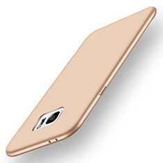 Funda Silicona Ultrafina Goma Carcasa S01 para Samsung Galaxy Note 7 Oro