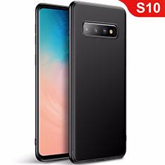 Funda Silicona Ultrafina Goma Carcasa S01 para Samsung Galaxy S10 Negro