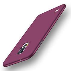 Funda Silicona Ultrafina Goma Carcasa S01 para Samsung Galaxy S5 G900F G903F Morado