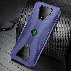 Funda Silicona Ultrafina Goma Carcasa S01 para Xiaomi Black Shark 3 Pro Azul