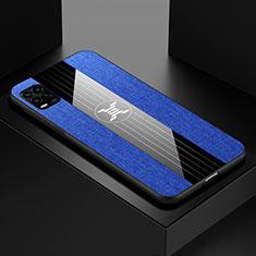 Funda Silicona Ultrafina Goma Carcasa S01 para Xiaomi Mi 10 Lite Azul