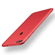 Funda Silicona Ultrafina Goma Carcasa S01 para Xiaomi Mi 8 Lite Rojo