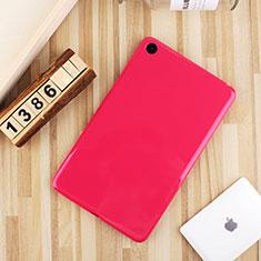 Funda Silicona Ultrafina Goma Carcasa S01 para Xiaomi Mi Pad 4 Rosa Roja