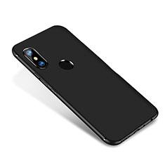 Funda Silicona Ultrafina Goma Carcasa S02 para Xiaomi Redmi Note 5 Pro Negro