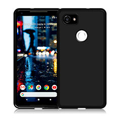 Funda Silicona Ultrafina Goma para Google Pixel 2 XL Negro
