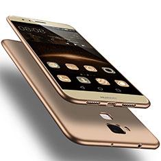Funda Silicona Ultrafina Goma para Huawei G7 Plus Oro