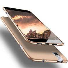 Funda Silicona Ultrafina Goma para Huawei Honor 7i shot X Oro