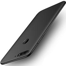 Funda Silicona Ultrafina Goma para Huawei Honor Play 7A Negro