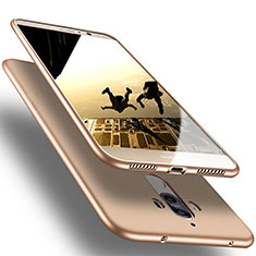 Funda Silicona Ultrafina Goma para Huawei Mate 10 Pro Oro