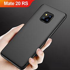 Funda Silicona Ultrafina Goma para Huawei Mate 20 RS Negro