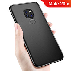 Funda Silicona Ultrafina Goma para Huawei Mate 20 X Negro