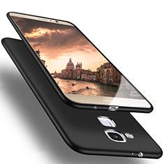 Funda Silicona Ultrafina Goma para Huawei Mate 7 Negro