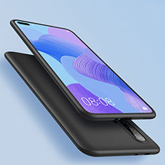 Funda Silicona Ultrafina Goma para Huawei Nova 6 5G Negro