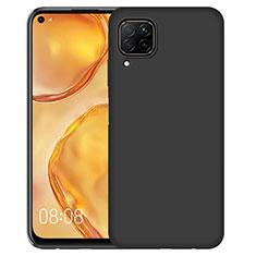 Funda Silicona Ultrafina Goma para Huawei Nova 6 SE Negro