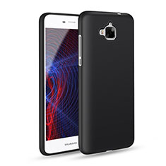 Funda Silicona Ultrafina Goma para Huawei Y6 Pro Negro