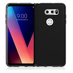 Funda Silicona Ultrafina Goma para LG V30 Negro
