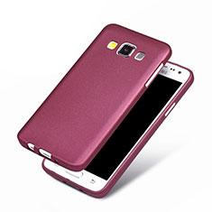 Funda Silicona Ultrafina Goma para Samsung Galaxy A3 Duos SM-A300F Morado