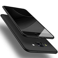 Funda Silicona Ultrafina Goma para Samsung Galaxy A3 Duos SM-A300F Negro
