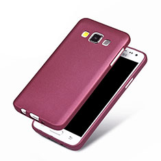 Funda Silicona Ultrafina Goma para Samsung Galaxy A3 SM-300F Morado