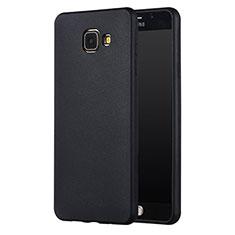 Funda Silicona Ultrafina Goma para Samsung Galaxy A5 (2017) Duos Negro