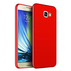 Funda Silicona Ultrafina Goma para Samsung Galaxy J5 Prime G570F Rojo