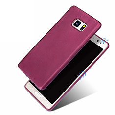 Funda Silicona Ultrafina Goma para Samsung Galaxy Note 7 Morado