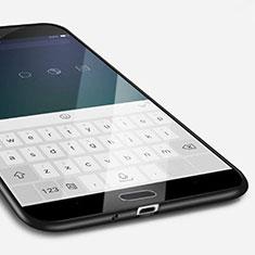 Funda Silicona Ultrafina Goma para Samsung Galaxy S4 IV Advance i9500 Negro