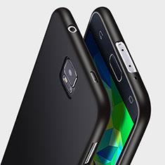 Funda Silicona Ultrafina Goma para Samsung Galaxy S5 Duos Plus Negro