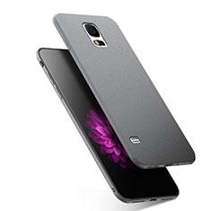 Funda Silicona Ultrafina Goma para Samsung Galaxy S5 G900F G903F Gris