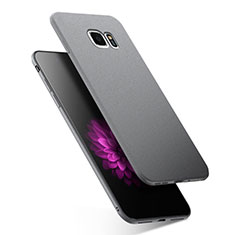 Funda Silicona Ultrafina Goma para Samsung Galaxy S7 G930F G930FD Gris