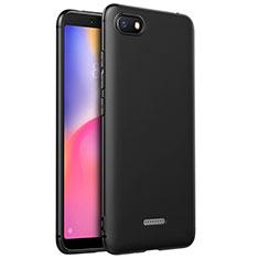 Funda Silicona Ultrafina Goma para Xiaomi Redmi 6A Negro