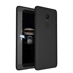 Funda Silicona Ultrafina Goma para Xiaomi Redmi Note 4X Negro