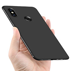 Funda Silicona Ultrafina Goma para Xiaomi Redmi Note 5 Pro Negro