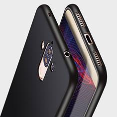 Funda Silicona Ultrafina Goma R05 para Huawei Mate 9 Negro